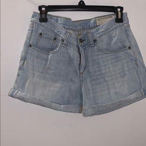 "Rag & Bone Boyfriend Shorts ""Cliffs"""